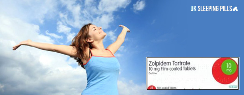 Feel Energised with Zolpidem Tartrate 10mg Tablets