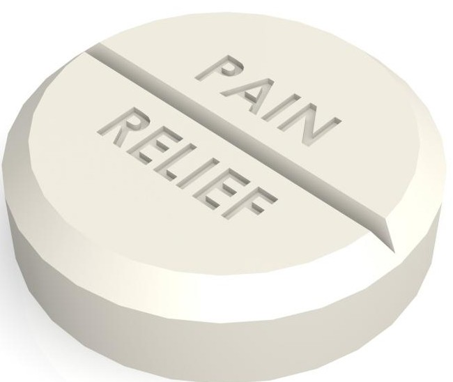 How do pain relief tablets work?